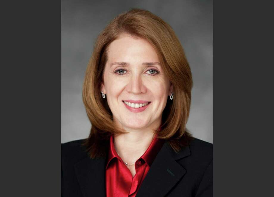 Ruth Porat topped the list of highest paid female CFOs with her $14.4 million pay package from Morgan Stanley for the 2014 fiscal year. Google has since lured her away with a pay deal worth $70 million. Photo: Morgan Stanley / Camera 1 via Morgan Stanley