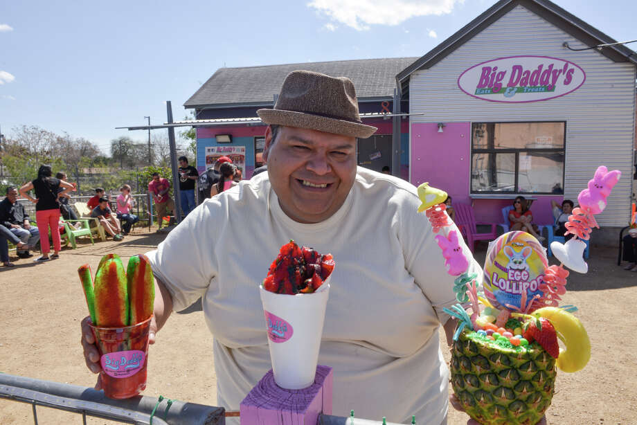Jaime Morales is the owner of Big Daddy's that started as a food truck and now has a permanent location at 228 E. Cevallos. Photo: Robin Jerstad / San Antonio Express-News