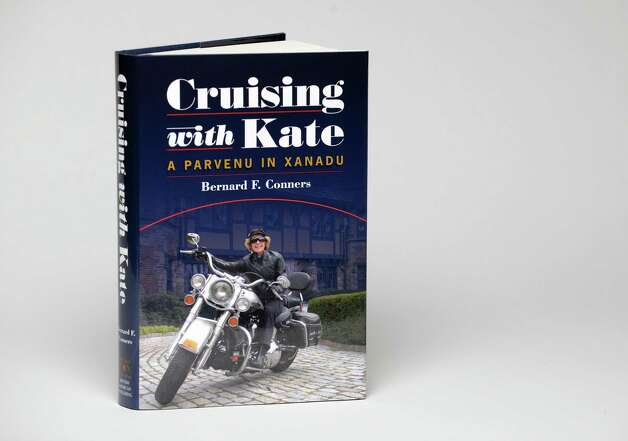 "Bernard F. Comers new memoir, ""Cruising with Kate: A Parvenu in Xanadu,"" Tuesday, March 24, 2015, at the Times Union in Colonie, N.Y. (Will Waldron/Times Union) Photo: WW"