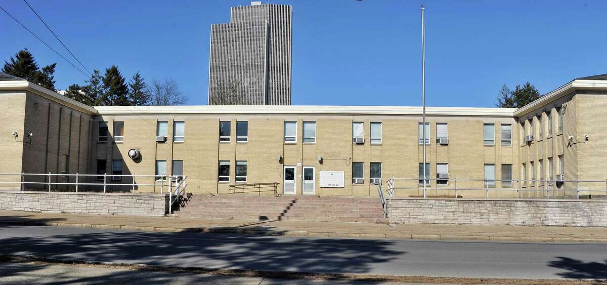 The former Cathedral School on Park Avenue has been chosen as the new site for Bishop Maginn High School Tuesday March 24, 2015 inAlbany, NY. (John Carl D'Annibale / Times Union)