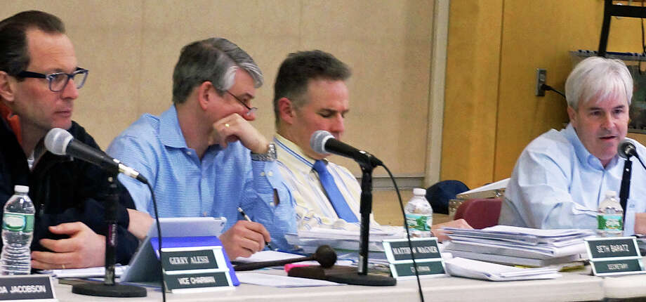 The Town Plan and Zoning Commission Tuesday wrestled with a medical office building application, ultimately tabling the decision. Photo: Genevieve Reilly / Fairfield Citizen