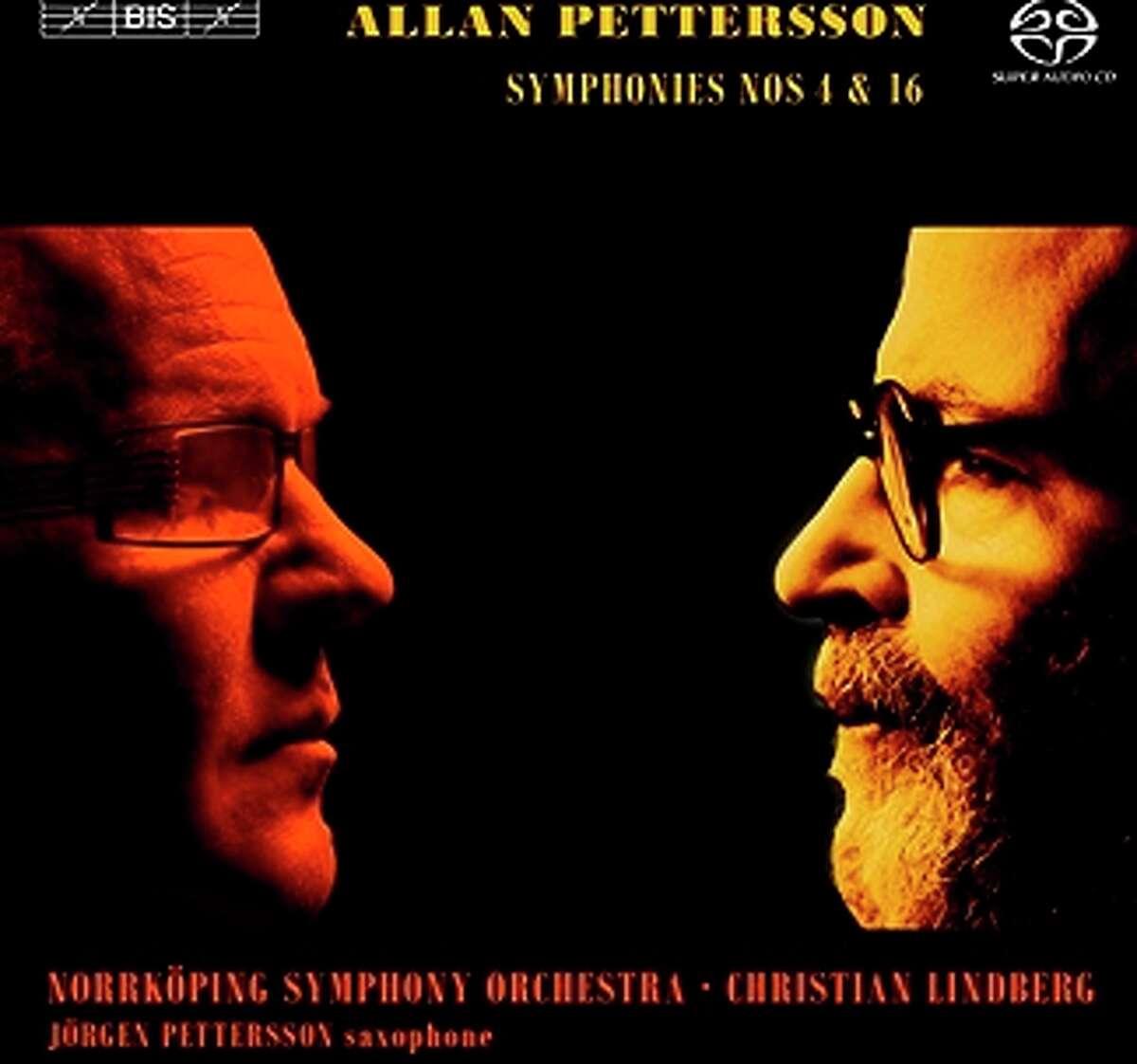 CD cover: Allan Pettersson, Symphonies