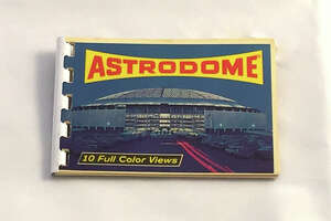 Astrodome photo booklet. Courtesy Mike Vance.