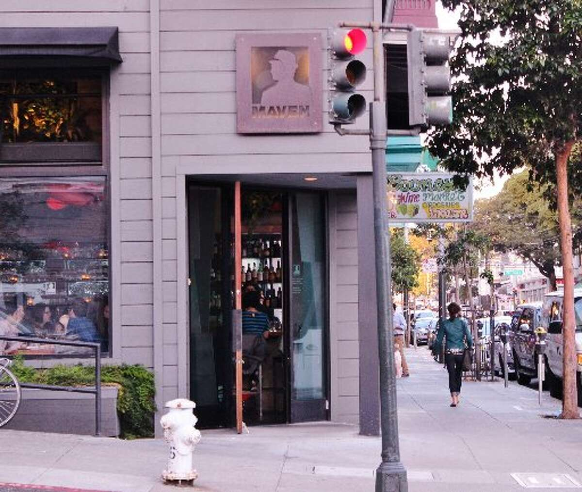 Maven opened in 2011 at the corner of Haight and Steiner.