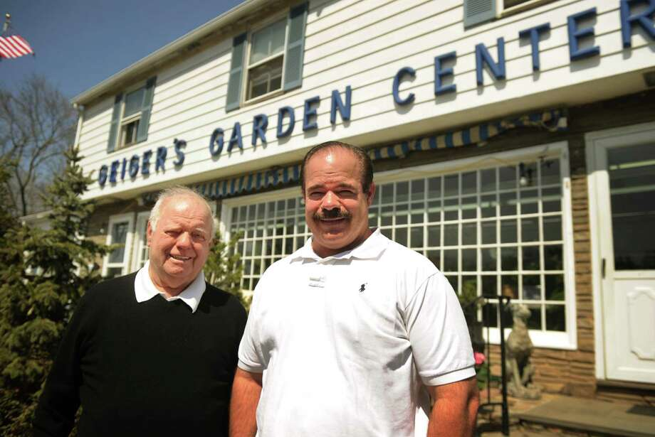 After more than 60 years in business in Westport, father and son Frank and John Geiger are moving their business, Geiger's Garden Center, to New Canaan. Photo: Brian A. Pounds / Connecticut Post