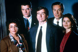 """NBC is considering bringing back the classic series, """"Law & Order"""" as a limited, 10-episode miniseries. It hasn't been confirmed yet, but rumors suggest that NBC would like to bring back original cast members including Chris Noth and Sam Waterston. If NBC were to bring """"Law & Order"""" back for another season, it would tie """"Gunsmoke"""" for the longest-running primetime drama series at 21 seasons."""