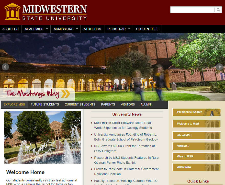 Midwestern State University Proposed allocation: $5,069,204 Current allocation: $3,559,433 Photo: College Websites