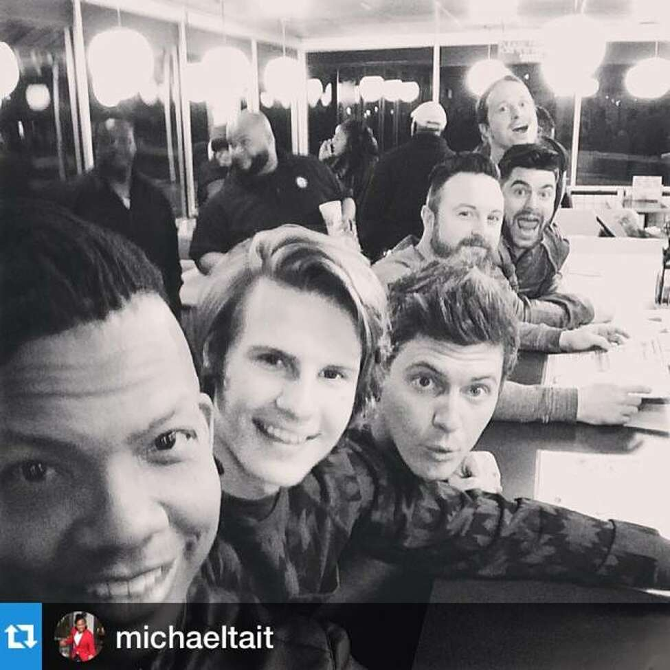 Michael Tait, foreground, with members of Finding Favour (photo from facebook.com/findingfavour) ORG XMIT: XJVWASc7ZXH9kuwtqLg9