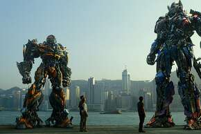 "A scene from ""Transformers: Age of Extinction."" It sold $298.5 billion in tickets in China, the nation's top-grossing film."