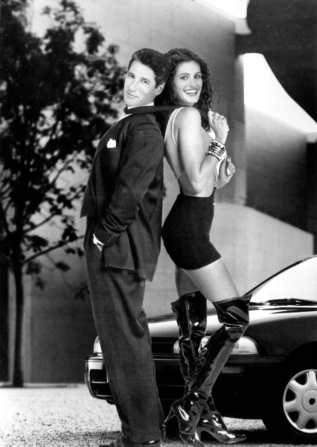 The movie was originally intended to be a darker, more cautionary tale in which Vivian is addicted to drugs and Edward eventually tosses her from his car and drives away.