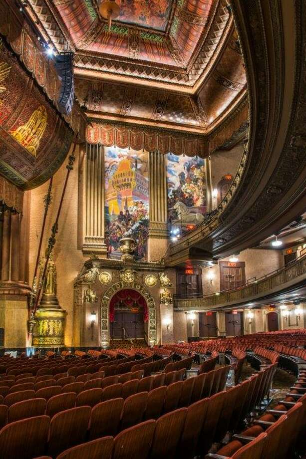 "The Beacon Theatre One of the last ""great movie palaces of New York,"" The Beacon Theatre was designated a landmark in 1979. Art Deco in style with a lavish rotunda lobby, the space still functions as a theater with a regular calendar of music and comedy performances. Read more: Best places to travel in 2015 Photo: © Larry Lederman"