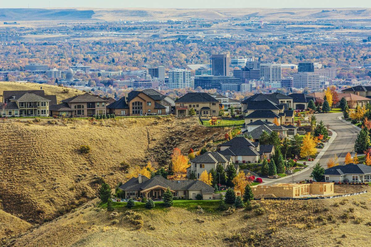 No. 20 - Boise, Idaho (+2.1 percent)