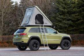 Jeep® Grand Cherokee Overlander Concept  Jeep is showcasing seven new concept vehicle featuring consumer-available Mopar and Jeep Performance parts as part of its 49th annual Easter Jeep Safari, taking place March 28-April 5 in Moab, Utah.
