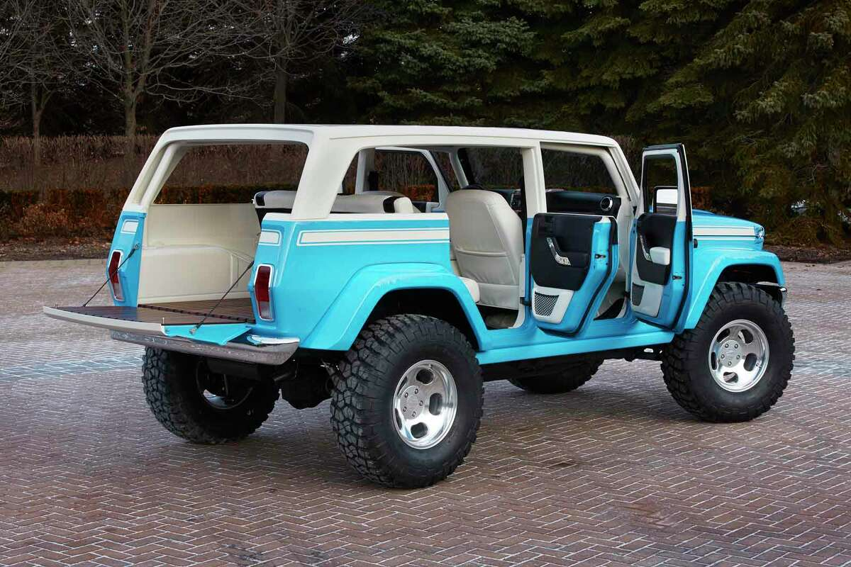 Jeep® Chief ConceptJeep is showcasing seven new concept vehicle featuring consumer-available Mopar and Jeep Performance parts as part of its 49th annual Easter Jeep Safari, taking place March 28-April 5 in Moab, Utah.