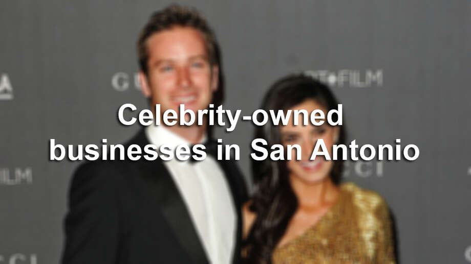 While a number of local celebrities have launched their own business, some have been more successful than others. Photo: San Antonio Express-News