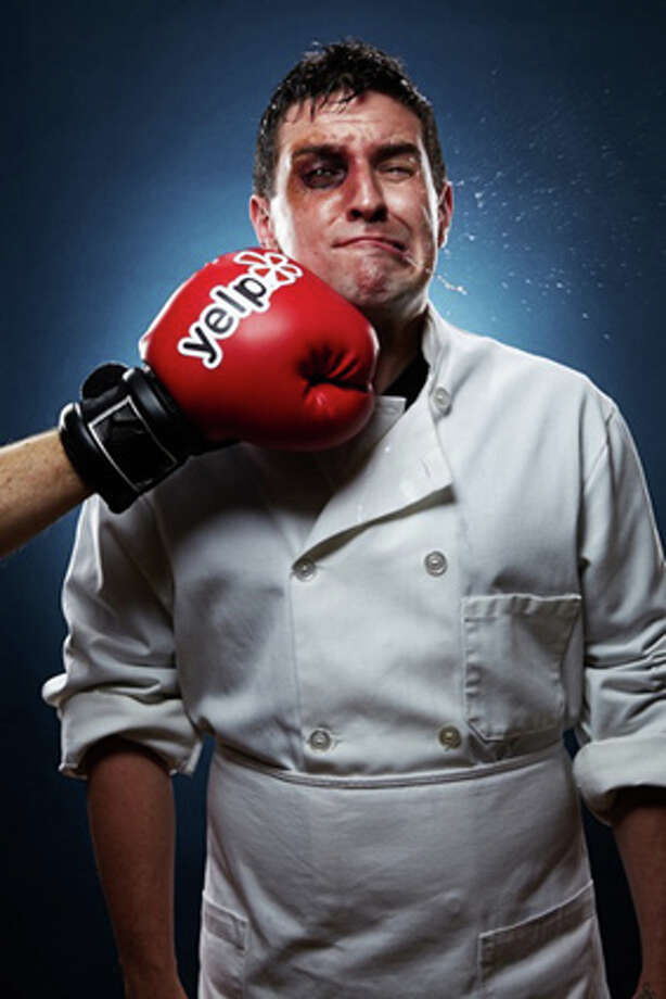 Chef exasperated by Yelp. Photo: Brittany McLaren, San Francisco Magazine