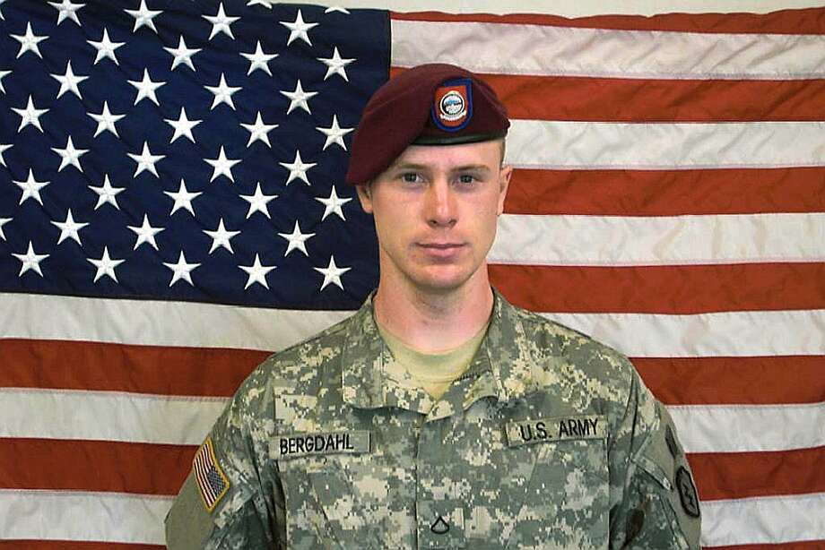 "(FILES)This US Army file handout photo obtained shows Private First Class(Pfc) Bowe Bergdahl, before his capture by the Taliban in Afghanistan. US officials have confirmed March 25, 2015 that Bergdahl will be charged with desertion and misbehavior before the enemy for leaving his post in Afghanistan before being captured and held by the Taliban for five years. Bergdahl went missing from his base in Afghanistan in June 2009. In May 2014, the US released five Taliban militants held in Guantanamo Bay in exchange for Bergdahl's return.   AFP PHOTO / HANDOUT / US ARMY              == RESTRICTED TO EDITORIAL USE / MANDATORY CREDIT: ""AFP PHOTO HANDOUT- US ARMY ""/ NO MARKETING - NO ADVERTISING CAMPAIGNS  NO A LA CARTE SALES / DISTRIBUTED AS A SERVICE TO CLIENTS ==--/AFP/Getty Images Photo: --, AFP / Getty Images"