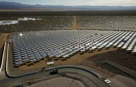 Power generated at the Ivanpah solar plant helps California amass clean energy and meet its goals of providing electricity from renewable sources.