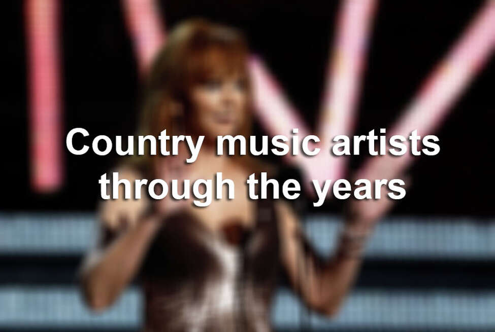 Country Music Hall of Fame musicians and performances through the years.