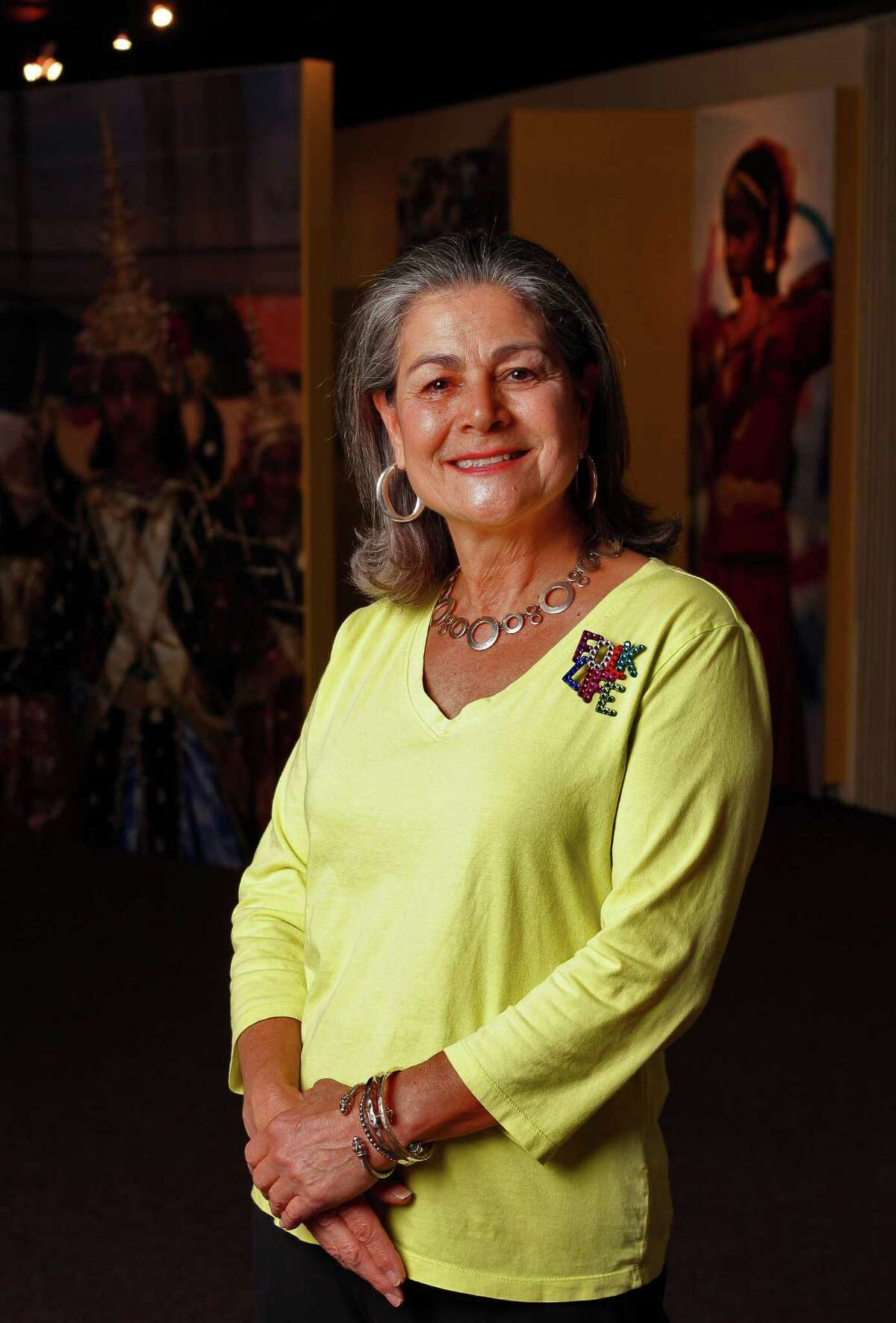 Jo Ann Andera has been involved with the Texas Folklife Festival since its inception more than 40 years ago.