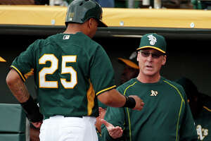 A's versatile Ladendorf unleashes potential in many forms - Photo