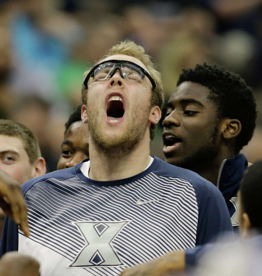 Matt Stainbrook and his Xavier teammates have been fired up about this NCAA Tournament. Photo: Chris O'Meara / Associated Press / AP