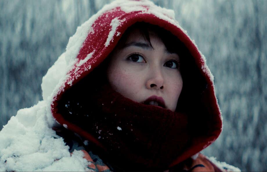 "Rinko Kikuchi as heroine Kumiko in the fairy tale-like drama ""Kumiko, the Treasure Hunter."" Photo: HANDOUT / Washington Post / THE WASHINGTON POST"