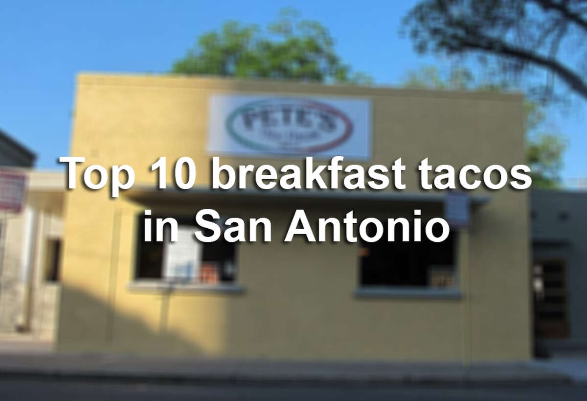 Readers cast thousands of votes in the Express-News Breakfast Taco Madness tournament. Here are the top 10 based on the number of votes each received in the bracket.