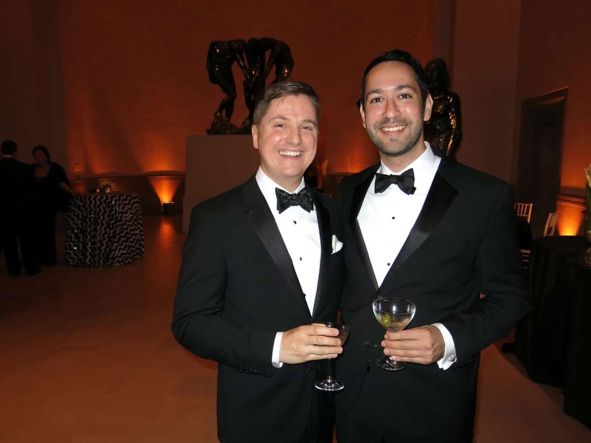 SF Arts Commission Director Tom DeCaigny (at left) and his partner, Seth Goldstein.