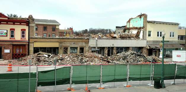 The changed landscape on Jay Street across from City Hall on Wednesday, March 25, 2015, in Schenectady, N.Y. (Cindy Schultz / Times Union) Photo: Cindy Schultz / 00031177A