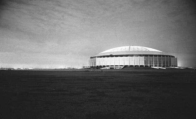 Astrodome, circa 1965 Photo: Houston Post / Houston Chronicle