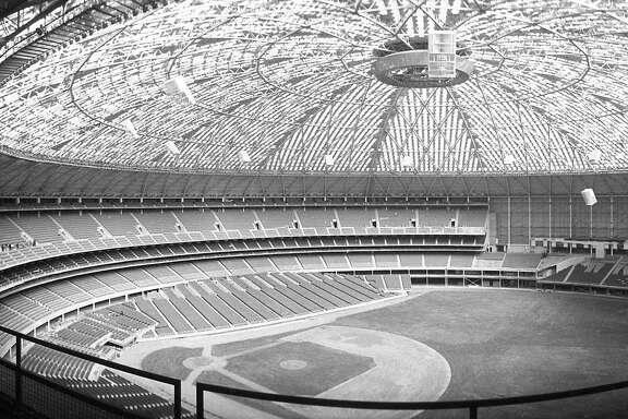 Astrodome interior, 1965