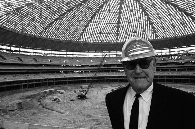 """R.E. """"Bob"""" Smith inside the Astrodome Photo: Houston Post / Houston Chronicle"""