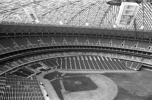 Inside the Astrodome, circa 1965 Photo: Houston Post / Houston Chronicle