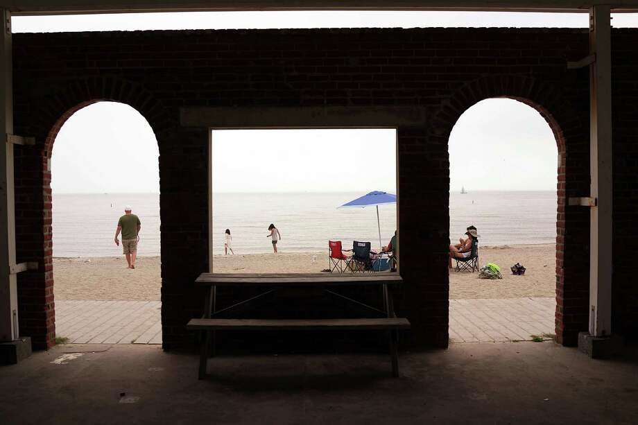 The Parks and Recreation Commion will discuss plans for renovations at Compo Beach when it meets March 31 in the town hall auditorium. Photo: Spencer Platt, File Photo / 2014 Getty Images