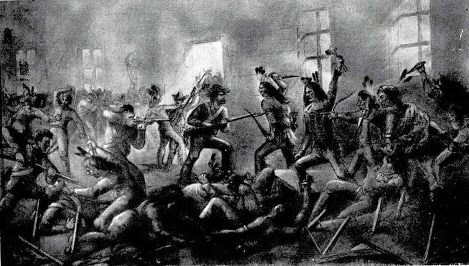 A reader appreciates a recent 150th anniversary story about the conflict known as the Council House Fight between Texas troops and a Comanche delegation, as depicted in this illustration. Photo: /Bexar County Parks Division