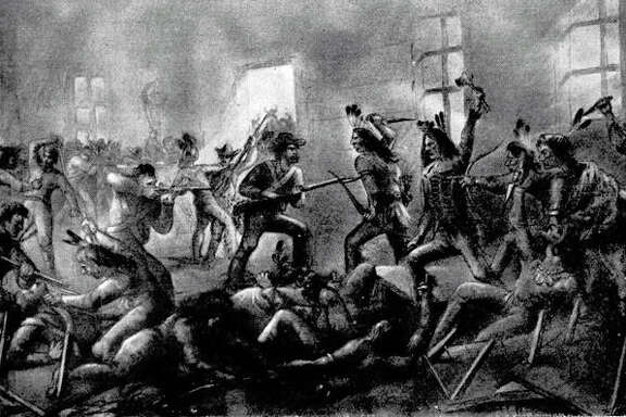 A reader appreciates a recent 150th anniversary story about the conflict known as the Council House Fight between Texas troops and a Comanche delegation, as depicted in this illustration.