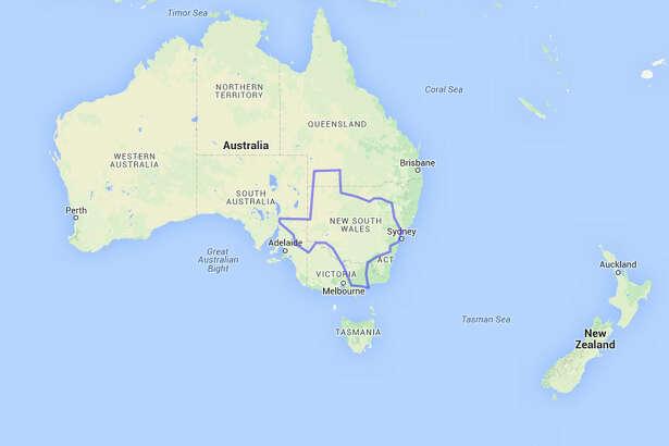 If Texas was an Australian state