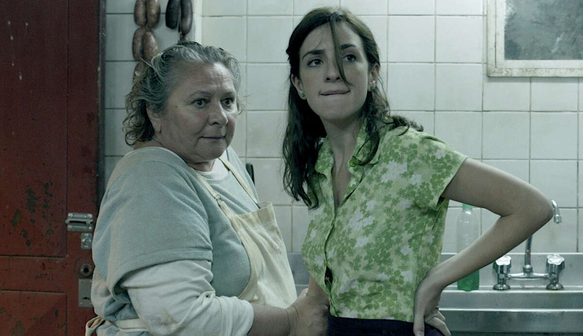 """(L-r): Rita Cortese as Cocinera and Julieta Zylberberg as Moza in a scene from """"Wild Tales,"""" Argentina's Oscar nominee for best foreign language film. Illustrates FILM-WILDTALES-ADV27 (category e), by Michael O'Sullivan 2015, The Washington Post. Moved Tuesday, Feb. 24, 2015. (MUST CREDIT: Javier Julié¡/Sony Pictures Classics.)"""