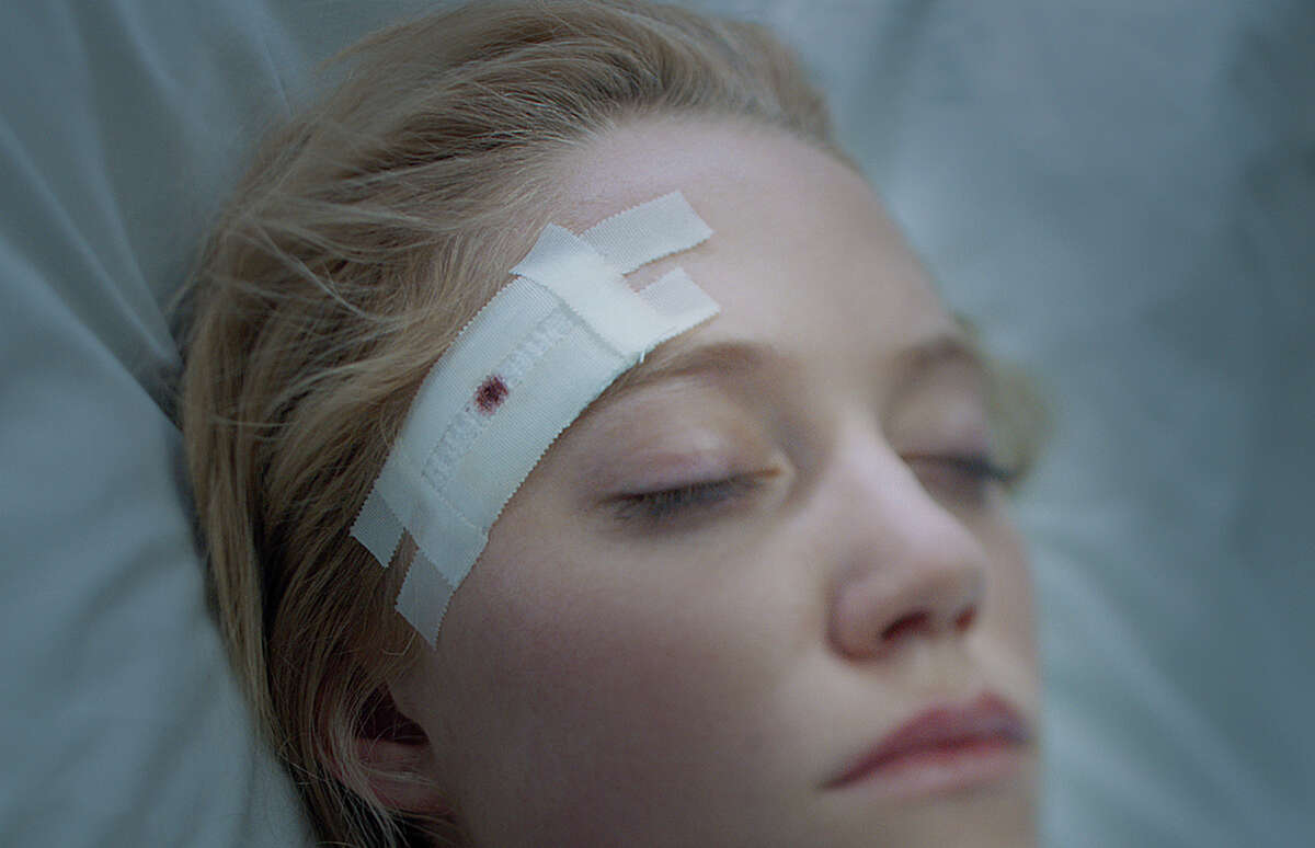 """Maika Monroe is Jay, a teenage girl being stalked by a relentless supernatural pursuer, in """"It Follows."""" Illustrates FILM-IT-ADV20 (category e), by Michael O'Sullivan 2015, The Washington Post. Moved Tuesday, March 17, 2015. (MUST CREDIT: RADiUS.)"""