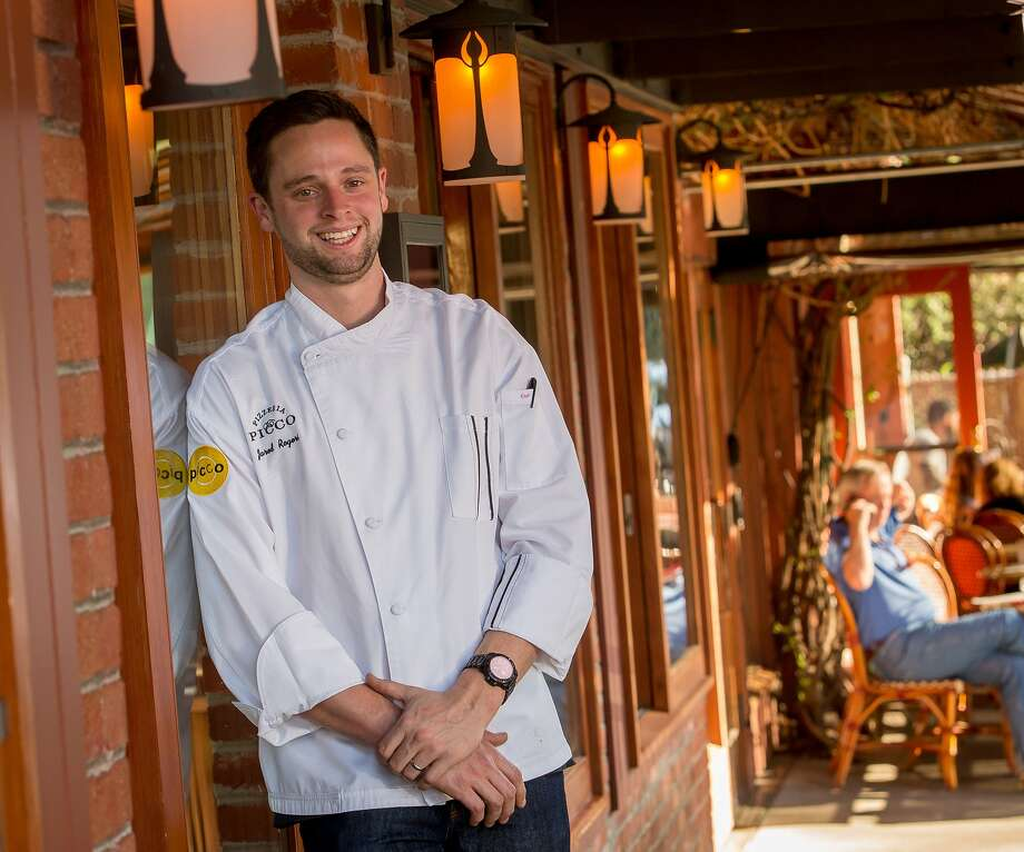 Chef Jared Rogers at Picco in Corte Madera, Calif.,  is seen on Wednesday, March 25th,  2015. Photo: John Storey, Special To The Chronicle