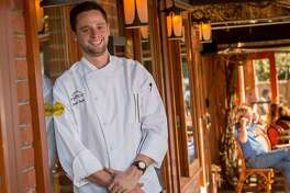 Chef Jared Rogers at Picco in Corte Madera, Calif.,  is seen on Wednesday, March 25th,  2015.