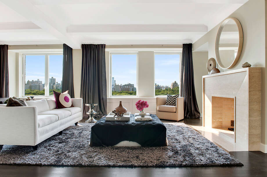 Carmelo Anthony's New York apartment is the latest celebrity home to hit the market for a price tag of $12 million.Source: CORE Photo: RICHARD CAPLAN, Provided By CORE / 2012