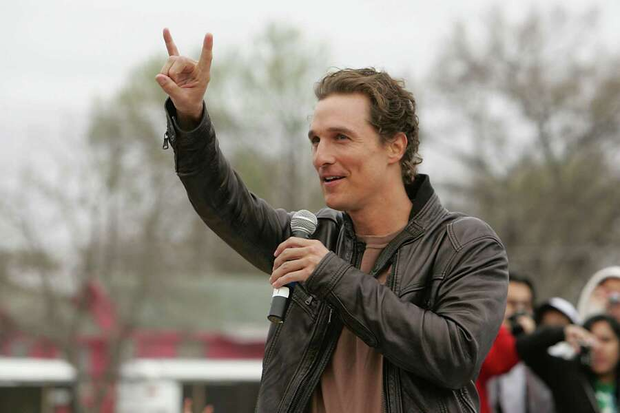 The Uvalde native is as big a Longhorn fan as there is, and he already seemingly has lifetime sideline passes for all Longhorn football games. After Steve Patterson's Failure to Launch, McConaughey as AD would be alright, alright, alright. UT could probably even furnish the AD's stadium suite with Matthew's very own bongos. Photo: Gary Miller, Getty Images / 2009 Gary Miller