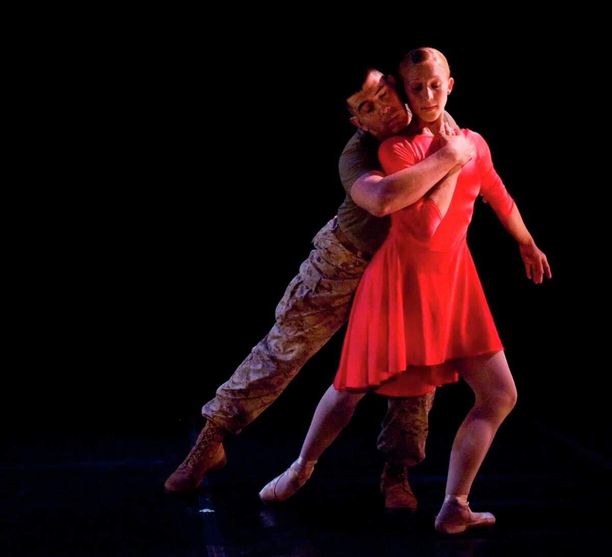 Roman Baca and Lara Tant in the duet