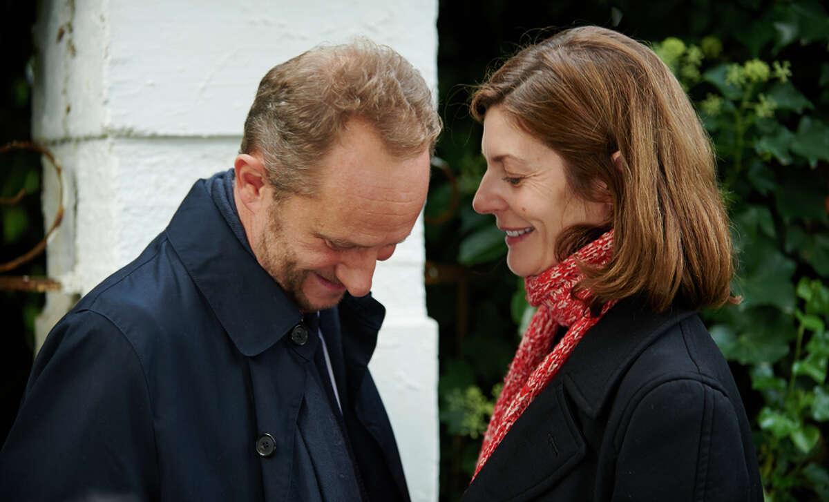 """Benoit Poelvoorde and Chiara Mastroianni play two of the hearts caught in a love triangle at the heart of """"3 Hearts."""""""