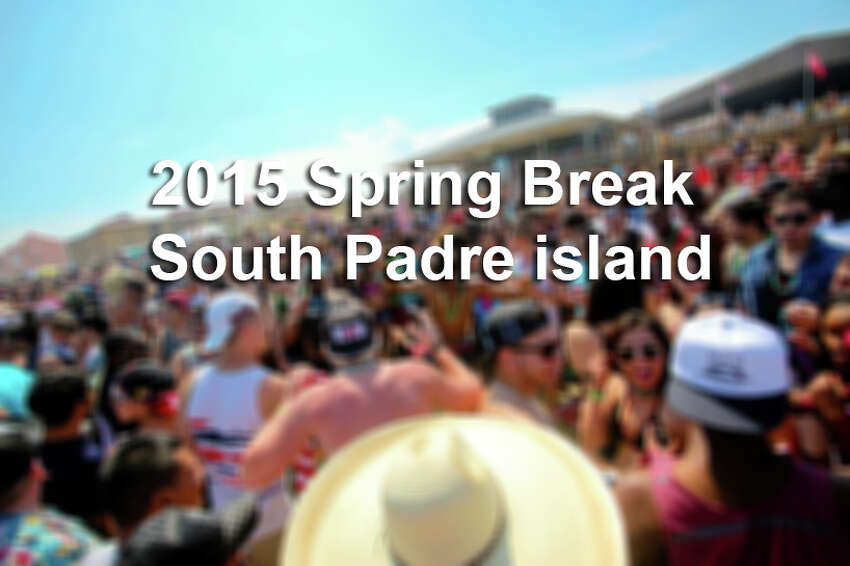 Spring break 2015 at South Padre Island