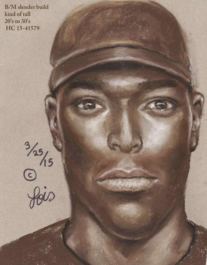 Authorities have released a sketch of a man suspected of shooting and wounding a woman in a road-rage incident during rush hour Friday morning along Interstate 45 in north Harris County. Photo: Houston Police