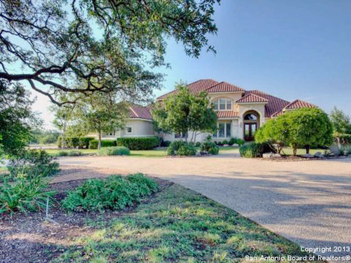 907 Cordillera Trace, Boerne This 5,431-square-foot home in Cordillera Ranch is listed for $1.175 million. It has 4 bedrooms and 4.5 bathrooms, as well as a covered patio, balcony, dog kennel and outdoor kitchen. MLS - 1100993
