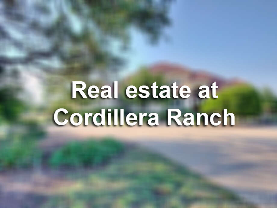 Cordillera Ranch, located 10 minutes east of Boerne, is an 8,700-acre residential and golfing community. It features seven resort-style clubs in one location: The Golf Club, The Social Club, The Tennis and Swim Club, The Equestrian Club, The Rod and Gun Club, The Spa and Athletic Club and The River Club. As for real estate, homes are located in the golf course and Guadalupe River frontages.Click through the slideshow to see five homes that are available at Cordillera Ranch.  Photo: File